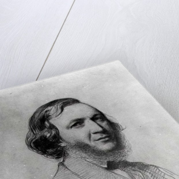 Portrait of Robert Browning by Field Talfourd
