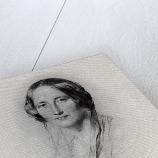 Elizabeth Cleghorn Gaskell by George Richmond