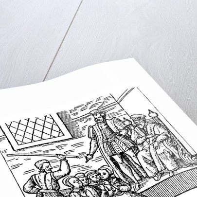 James I of England and VI of Scotland Examining the North Berwick Witches by English School
