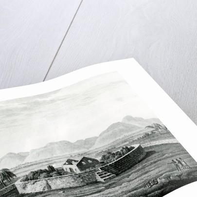 Peruvian Monument of Canar by Friedrich Alexander