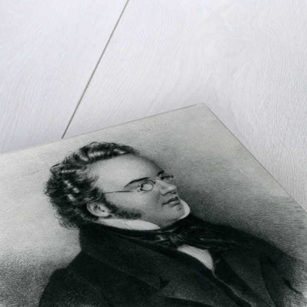 Portrait of Franz Schubert by Anonymous