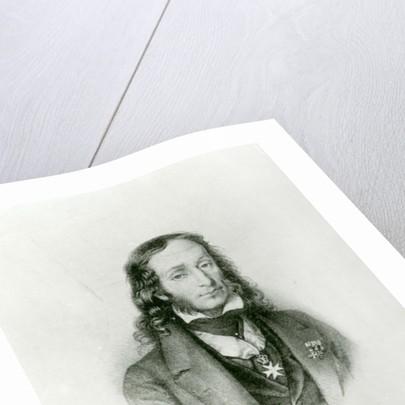 Niccolo Paganini by Anonymous