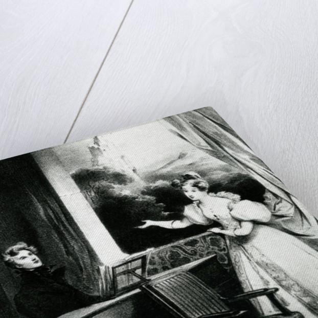 L'Artiste by Achille Deveria