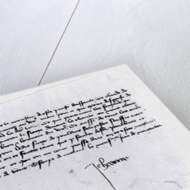 Signature of Joan of Arc by Unknown