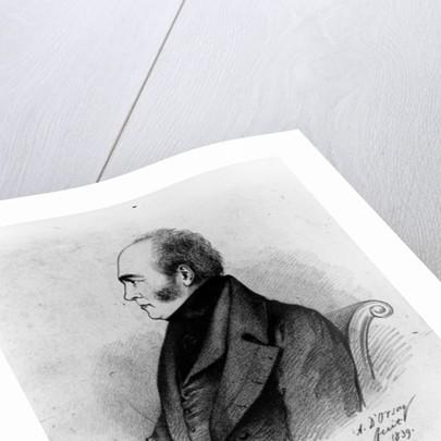 Walter Savage Landor by Alfred d' Orsay