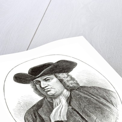 William Penn engraved by Josiah Wood Whymper by English School