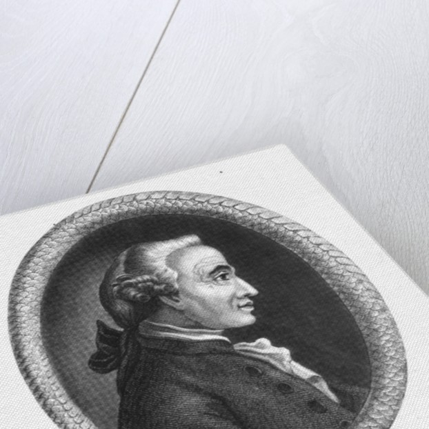 Portrait of Emmanuel Kant by English School