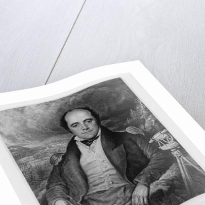 Portrait of Captain John Franklin by George Robert Lewis