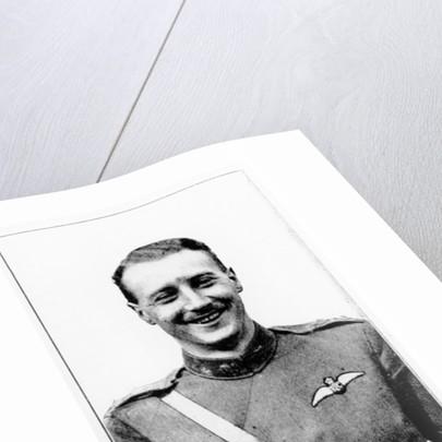 Portrait of Lieutenant William Leefe Robinson by English Photographer