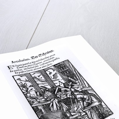 The Woodworker by German School