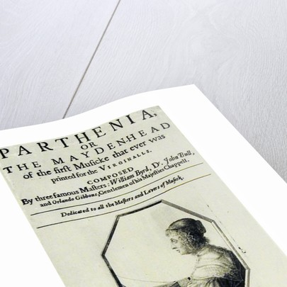Frontispiece to 'Parthenia' or 'The Maiden Head' by English School