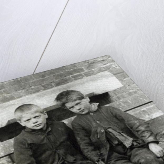 London Slums, The Boys by English School