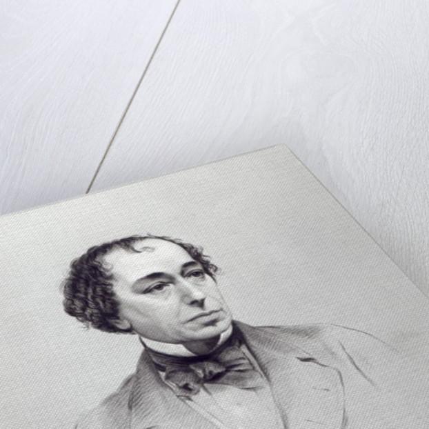 Benjamin Disraeli, 1st Earl Beaconsfield by English School