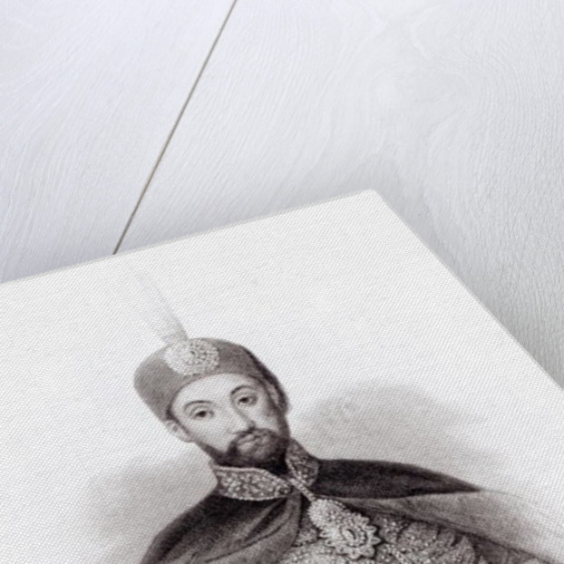 Portrait of Abdulmecit by English School