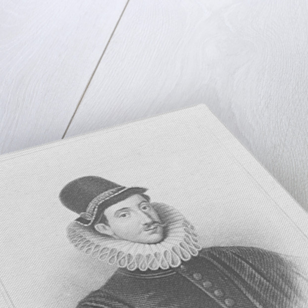 Portrait of Fulke Greville 1st Baron Brooke by English School