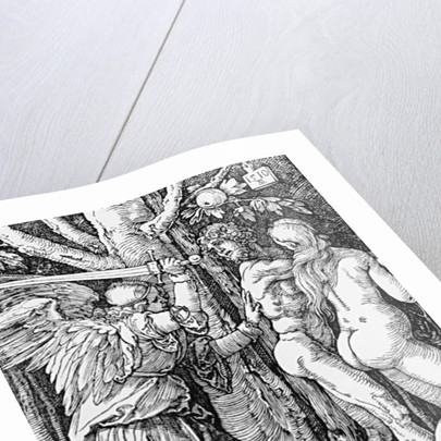 The Expulsion from Paradise by Albrecht Dürer or Duerer