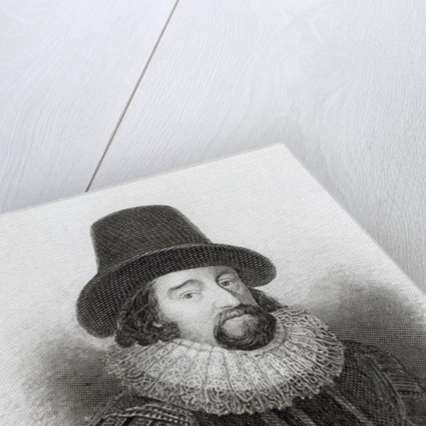 Portrait of Francis Bacon by English School