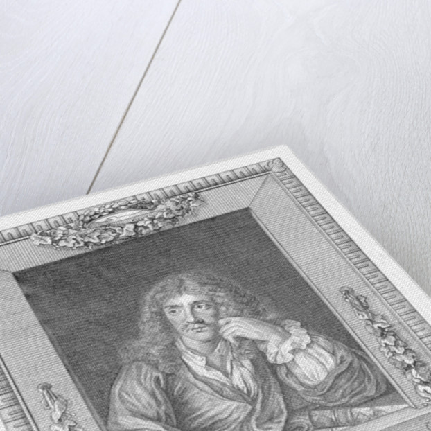 Portrait of Moliere by English School