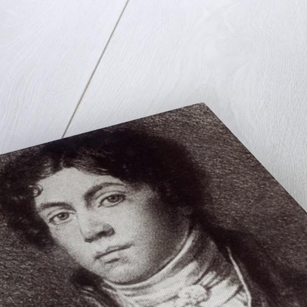 Alexander Pushkin by Russian School