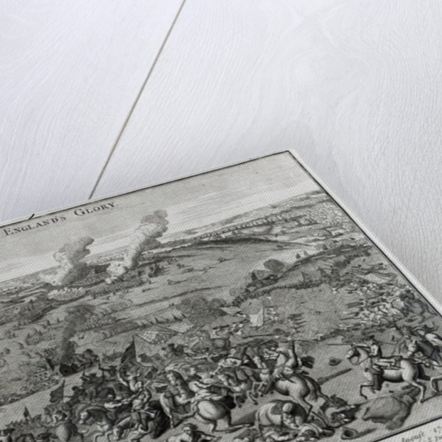 A View and Representation of the Battle of Hochsted by English School