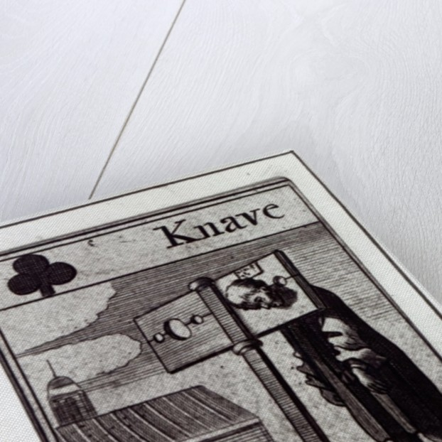 The Knave of Clubs by English School