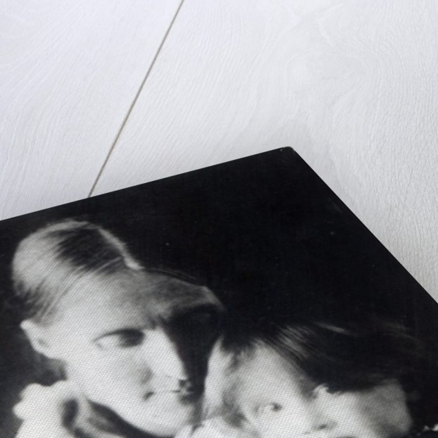 Virginia Woolf, with her mother Julia by English Photographer