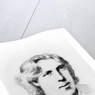 Portrait of Oscar Wilde by French School