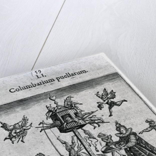 Columbarium puellarum by Theodore de Bry