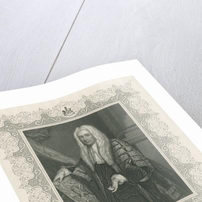 Philip Yorke, 1st Earl of Hardwicke by English School