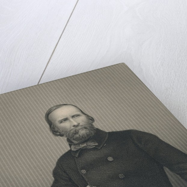 Giuseppe Garibaldi by Italian Photographer