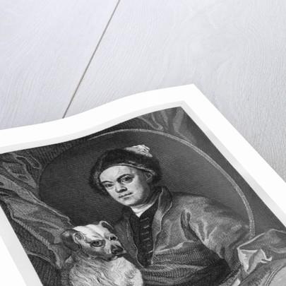 Self Portrait by William Hogarth