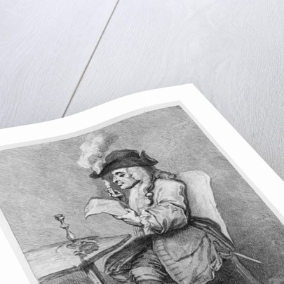 The Politician, etched by John Keyse Sherwin by William Hogarth