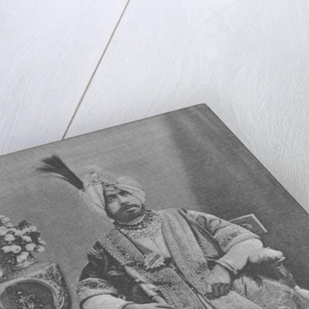 Maharaja Pratap Singhji of Jammu and Kashmir by English Photographer