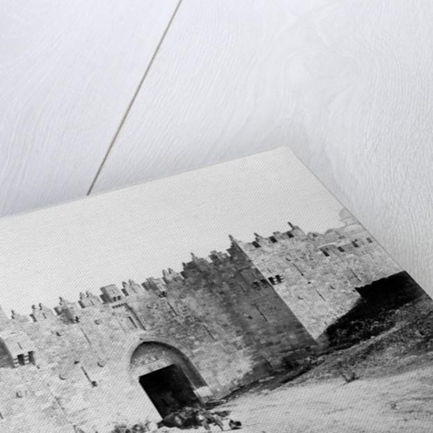 Damascus Gate, Jerusalem by James & Beato