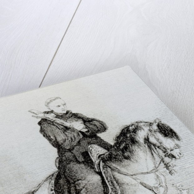 Peter the Hermit by Elviro Michael Andriolli