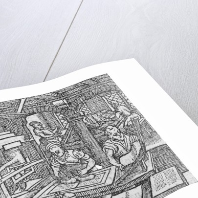A printmaking workshop by German School