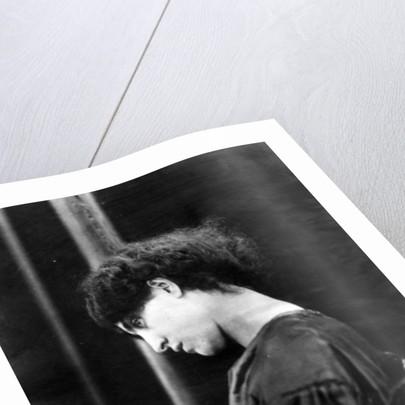 Jane Morris, posed by Dante Gabriel Rossetti by John R. Parsons