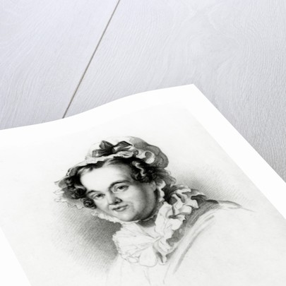 Mary Russell Mitford by Frederick Richard Say