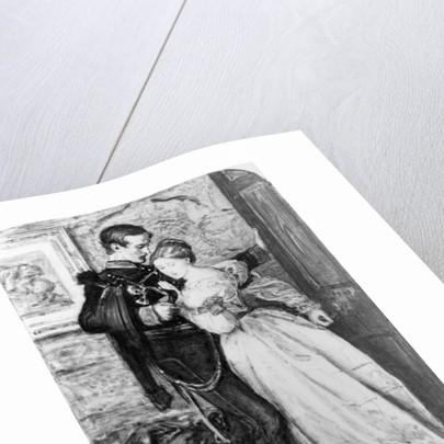 The Black Brunswicker by Sir John Everett Millais