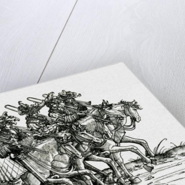 Five Musicians with Trombones by Albrecht Altdorfer