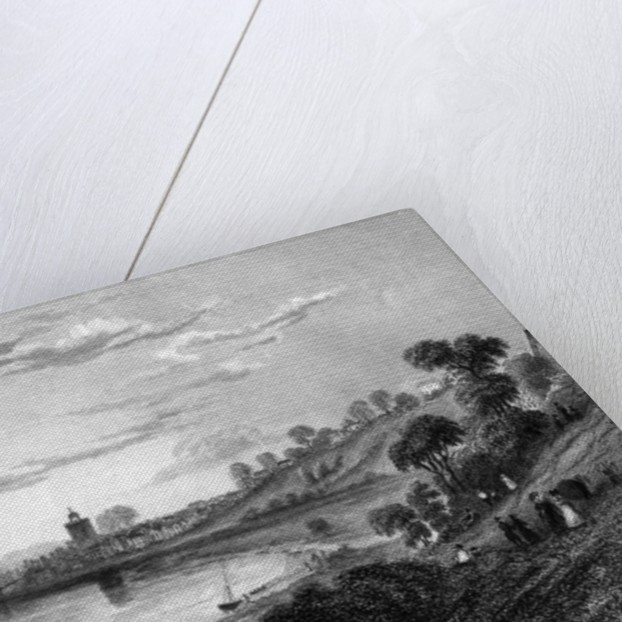 Wivenhoe, Essex by William Henry Bartlett