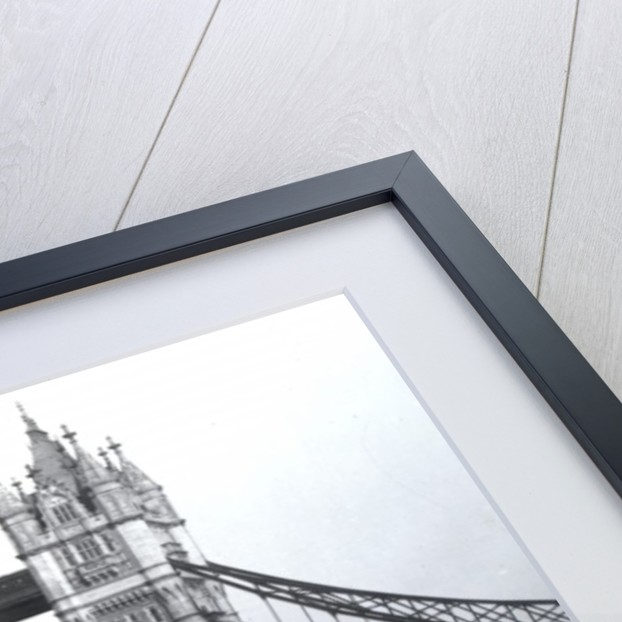 View of Tower Bridge by English Photographer