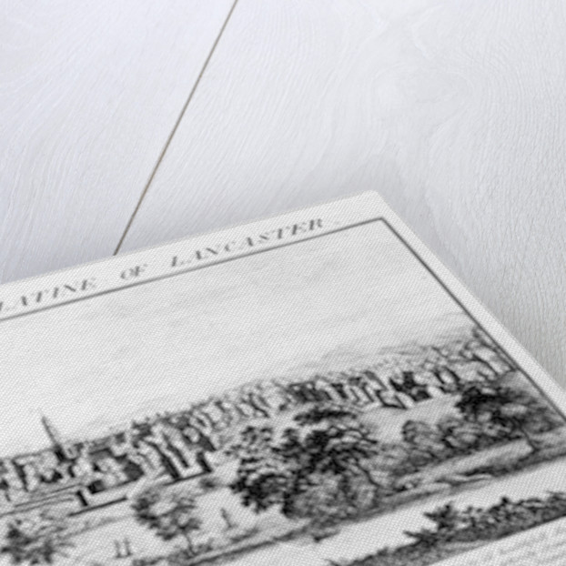 The South West Prospect of Manchester on the County Palatine of Lancaster by Nathaniel and Samuel Buck