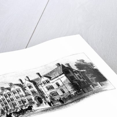 Dalton Hall, residence for students of Victoria University, Manchester by English School