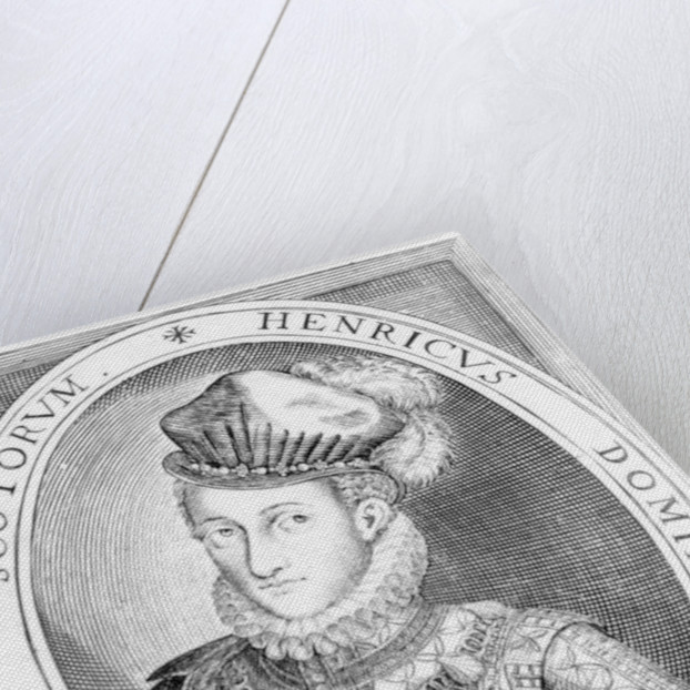 Henry Stuart, Lord Darnley by Renold Elstrack