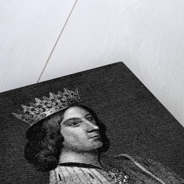 King James III of Scotland by English School
