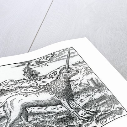a Campchurch Unicorn by French School