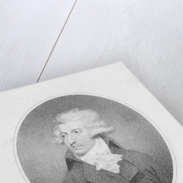 George Colman the Younger, engraved by William Ridley by English School