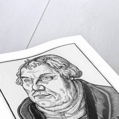 Martin Luther by Lucas the Elder Cranach