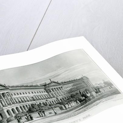 Hanover Terrace, Regent's Park, London by Thomas Hosmer Shepherd